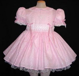 Adult Sissy Baby Dress Eyelet Delight by Annemarie