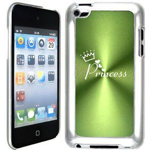Green Apple iPod Touch 4th Generation 4g Hard Case B169 Princess with