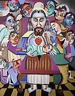 GIFT FROM THE GOD PRINT CHRISTIAN ART JESUS ANGELS ANTHONY FALBO