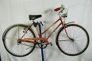 World Traveler womens bike bottle generator light sturmey archer