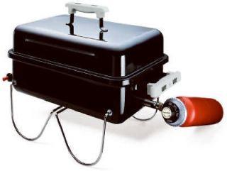 Weber Propane Gas Black Portable Go Anywhere Grill