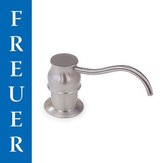 Brushed Nickel Stainless Steel Kitchen Soap Lotion Pump Dispenser