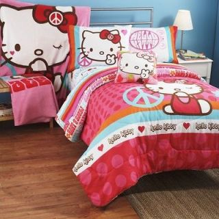 Hello Kitty Bedding Collection Twin/Full Comforter ONLY FREE