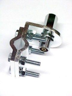 NEW CB Ham Radio Antenna 3 WAY Aluminum Mirror MOUNT Bracket 3/8 x 24