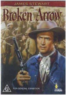 Broken Arrow NEW PAL Classic Western DVD James Stewart