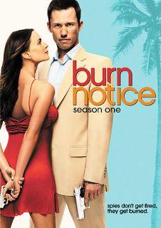 Burn Notice   Season 1 (DVD, 2009, 4 Disc Set)