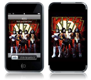 KISS LOVE GUN   IPOD TOUCH 2ND 3RD GEN COVER SKIN MUSICSKINS