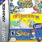 Mouse Trap Operation Simon Nintendo Game Boy Advance, 2005 New