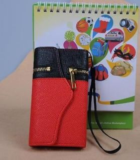 Newly listed O PU Leather Purses Cell Phone Bags for iPhone 5 5g Case