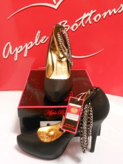 apple bottom heels
