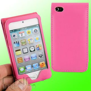 LEATHER FLIP FOLIO CASE FOR APPLE IPOD TOUCH iTouch 4G 4th Generation