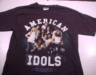 2008 AMERICAN IDOLS T Shirt DAVID ARCHULETA DAVID COOK