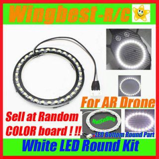 Light Kit for i phone Parrot Ar Drone 2.0 bottom round part fit well