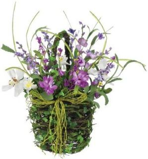 artificial flowers basket in Home & Garden