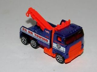 Rig Wrecker Tow Truck   Action City 5 Pack Exclusive   Malaysia 1997