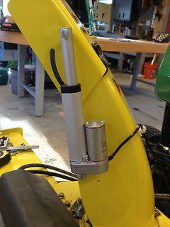 John Deere 47 Snowblower rower chute control mod 425 445 455 w
