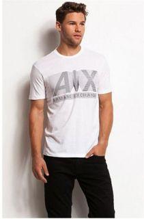 New Armani Exchange AX Mens Slim/Muscle Fit 3D Logo Tee Shirt