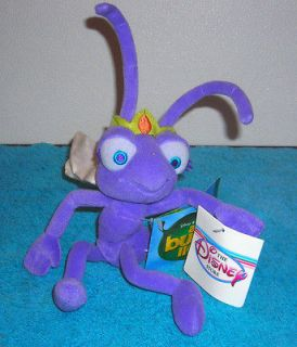 STORE EXCLUSIVE A BUGS LIFE ATTA THE ANT 9 PLUSH BEAN BAG TOY NEW