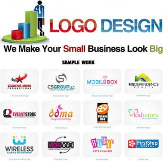 Designing   Three Logo Designs   Vector Art work   All Logo Formats