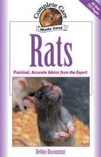 Rats: Complete Care Guide by Debbie Ducommun