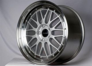 BBS LM STYLE ALLOY ALLOYS WHEELS 19 5x112 AUDI A3 Staggered