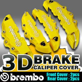 BREMBO 3D UNIVERSAL FIT Disc Brake Caliper Covers 4 pieces Front and