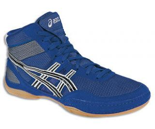 Asics Matflex 3 Royal/Black/Si lver Mens Wrestling Shoes
