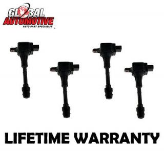 NEW GLOBAL AUTOMOTIVE IGNITION COIL NISSAN SENTRA L4 2.5L UF350 (SET
