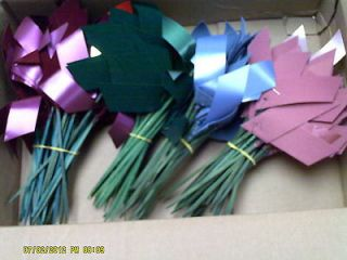 Newly listed ASSORTED COLORS VELVET RIBBON TUX FOR DECO BALLS/KISSING
