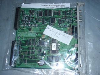 PANASONIC VIDEO MATRIX WJ SX550C CPU JRZX550 PLC BOARD