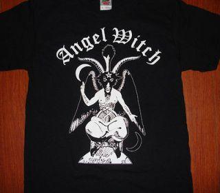 Angel Witch Shirt BLACK nwobhm diamond head saxon venom metal