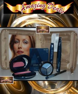 Avon Get the Look Collection Cosmetics Travel Bag Set