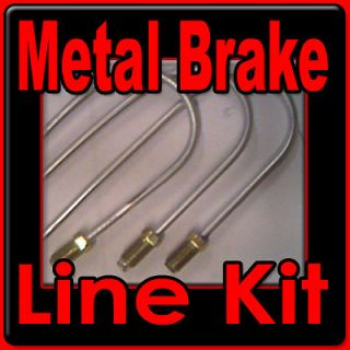 Metal brake line kit Chevy,GMC trucks 1981 1982 1983 1984 1985 1986