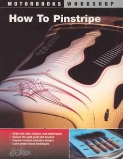 Learn Pinstriping Pinstripe Tools Design Paint New Book