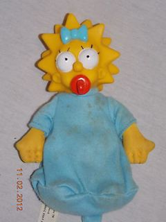 Baby Maggie Simpsons Doll Vinyl Head Cloth Body Matt Groening on
