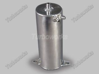 Round x 7 H Universal Aluminum Fuel Surge Tank Supra MK 7MGTE