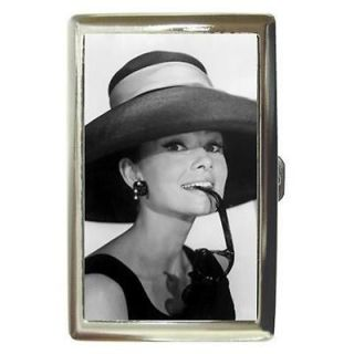 AUDREY HEPBURN BREAKFAST AT TIFFANYS 4 Cigarette Money Case ID Holder