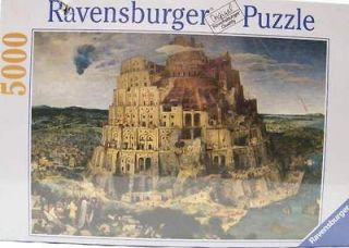 New Ravensburger The Tower of Babel 5000 Piece PuzzLE