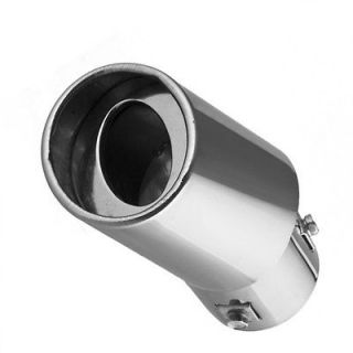 New Stainless steel Chrome Exhaust Muffler Tip For Ford Focus 2008 09
