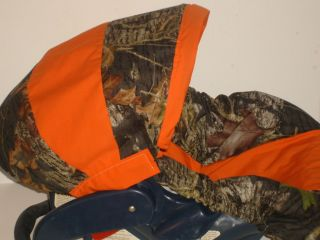 MOSSY OAK BREAKUP BABY Infant Car Seat Cover Graco OR STRAP COVERS