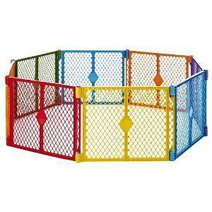 North State Superyard 3 In 1 Baby Metal Gate Play Yard