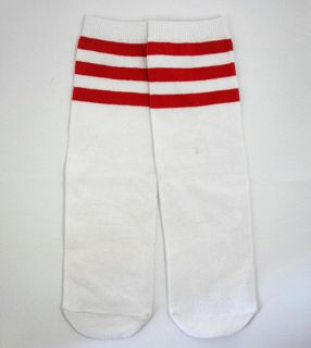 Baby Toddler Boy Girl Leg Warmers Leggings Tube Socks,Red Stripes,FREE