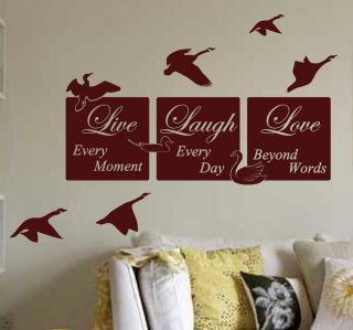 LIVE LAUGH LOVE wall quote MURAL WALL QUOTE wall art PRICE FROM
