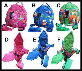 Baby/Kid/Toddler Safety Safe Security Harness Backpack Strap Rein Belt