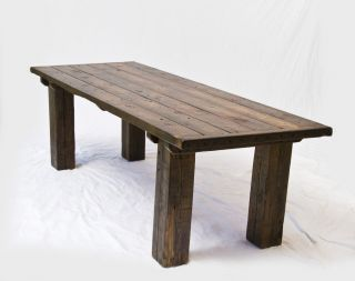 Rustic Refinery #372 Reclaimed Wood Table