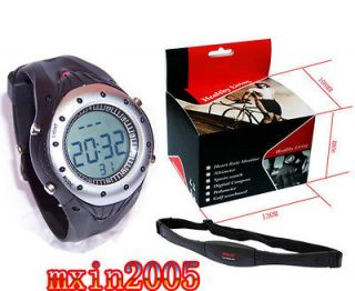 Heart Rate Monitor Watch Diving 30M Resistant Chest Belt waterProof