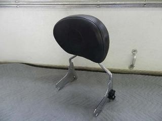 Touring Quick Release Passenger Backrest Sissy Bar Street Glide Ult
