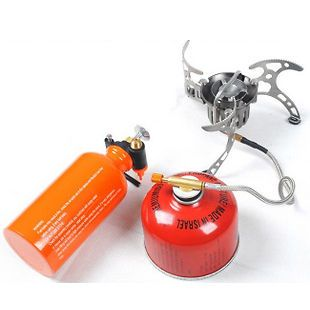 Camping Fishing Backpacking Multi Fuel Gasoline Gas Stove Cookware