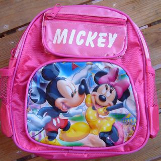 New Disney Minnie SMALL School Bag Backpacks Cute Lovely GIFT FOR KIDS