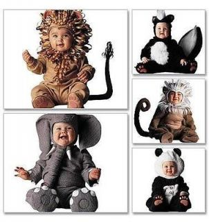 CHILDRENS BABY TODDLER FANCY DRESS ELEPHANT LION COSTUME PATTERN NEW